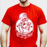 CAMISETA CHICO ROJA 10€